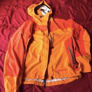 Orange Small Marmot Jacket